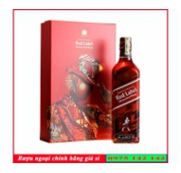 Rượu Johnnie Red Label 700ml Hộp quà