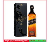 Rượu Johnnie Black Label 700ml