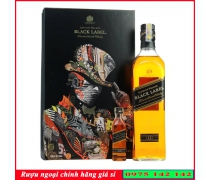 Rượu Johnnie Black Label 700ml Hộp quà