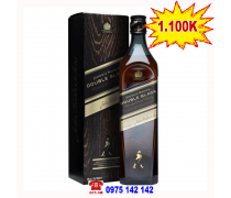Rượu Johnnie Double Black Label 750ml