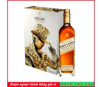 Rượu Johnnie Gold Label 750ml Hộp quà